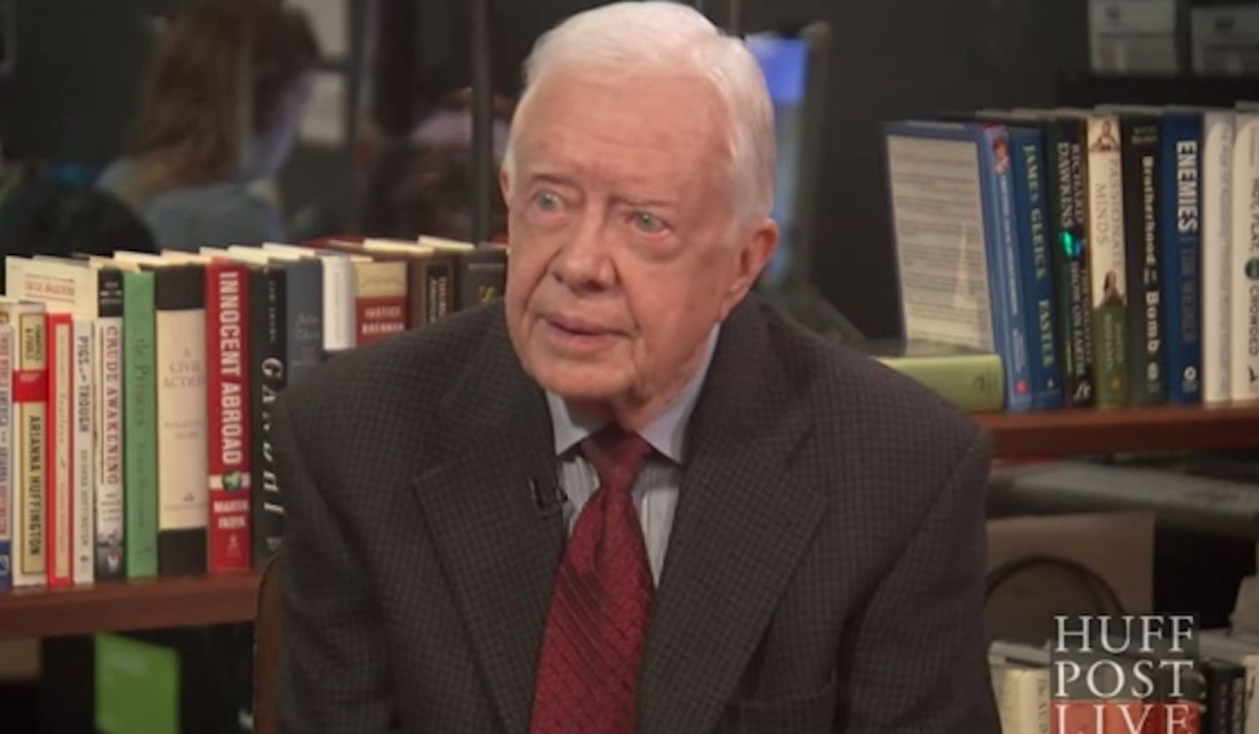 Jimmy Carter: 'I believe that Jesus would approve of gay