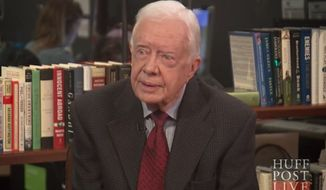 Former President Jimmy Carter declared Sunday that Jesus Christ would approve of same-sex marriages and abortions in the case of rape, incest and danger to the mother. (HuffPost Live)