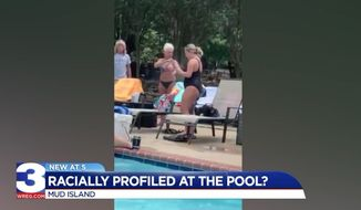 A white woman was fired from her job managing an apartment complex in Memphis after a black woman recorded her calling the police on her boyfriend for wearing socks in the pool. (WREG)