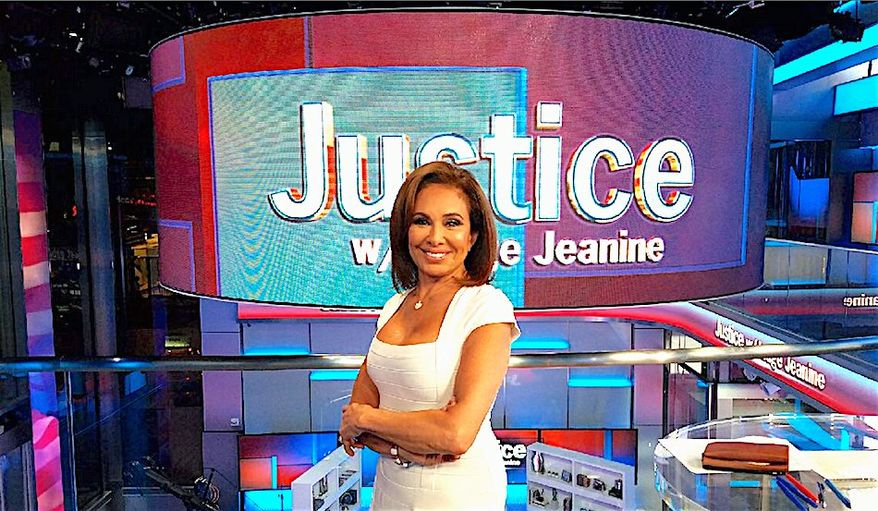 """Fox News' Judge Jeanine Pirro has a book and the title says it all: """"Liars, Leakers, and Liberals: The Case against the Anti-Trump Conspiracy."""" (Jeanine Pirro)"""