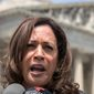 """""""The decision that one person makes on that court can have ramifications for the future of this country,"""" said Sen. Kamala Harris, of California. (Associated Press)"""