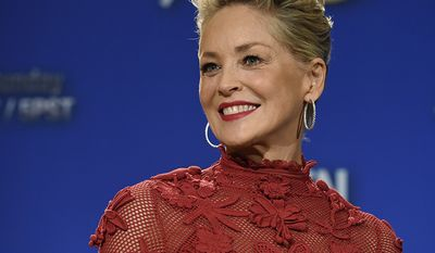 Actress Sharon Stone, 60