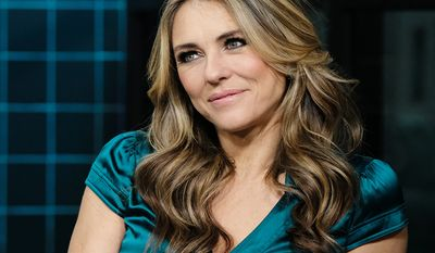 Actress Elizabeth Hurley, 53