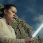 "This image released by Lucasfilm shows Daisy Ridley as Rey in ""Star Wars: The Last Jedi."" Star Wars: The Last Jedi is off to a death star-sized start at the box office. Disney says Friday, Dec. 15, 2017,  that eighth installment in the space franchise has earned an estimated $45 million from Thursday night showings. (Lucasfilm via AP)"