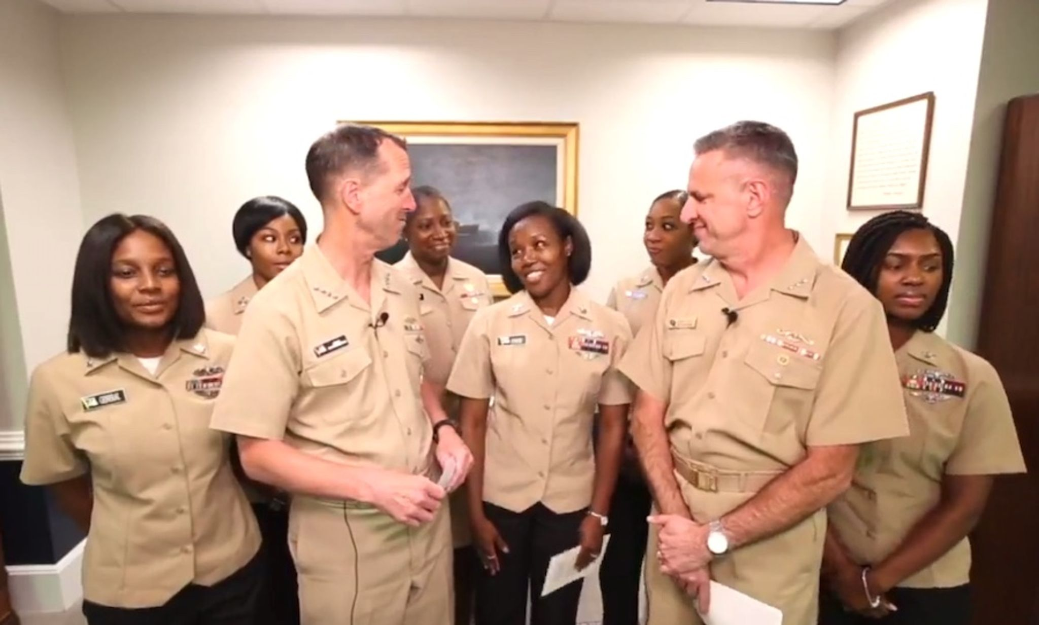 navy relaxes grooming standards for women ponytails locks allowed
