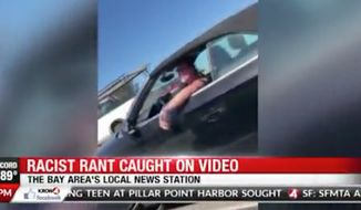 A California bank employee is out of a job after she was seen in a now-viral video shouting the N-word at another driver in a road rage incident earlier this week. (KRON-TV)