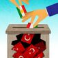 Suppression of the Kurdish Vote Illustration by Greg Groesch/The Washington Times
