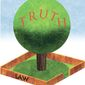 Illustration on the relationship between truth and human law by Alexander Hunter/The Washington Times