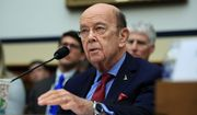 Commerce Secretary Wilbur Ross (left) failed to divest himself of certain holdings, said the ethics office. Former Health and Human Services Secretary Tom Price squandered about $341,000 in government funds, according to the HHS inspector general's report. Mr. Price left his position last September. testifies before a House Committee on Science, Space, and Technology Space Subcommittee and House Armed Services Committee Strategic Forces Subcommittee joint hearing on Capitol Hill in Washington. Ross says he is selling off all his vast stock holdings after news reports raised questions about the timing of some of his stock transactions and he received a sharp reprimand from the chief federal ethics officer. (AP Photo/Manuel Balce Ceneta) (Associated Press photographs)