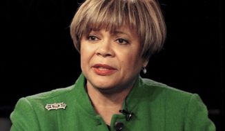 Mayor Vi Lyles says a Republican convention in Charlotte could be a good thing but some of her Democratic councilmembers disagree. (Associated Press)