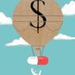 Higher Prescription Prices Illustration by Linas Garsys/The Washington Times