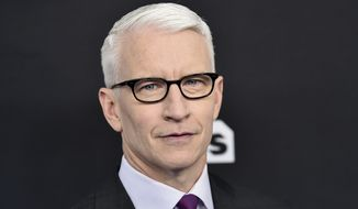 CNN news anchor Anderson Cooper attends the Turner Networks 2018 Upfront at One Penn Plaza on Wednesday, May 16, 2018, in New York. (Photo by Evan Agostini/Invision/AP)