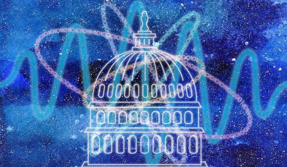 Quantum Action by Congress Illustration by Greg Groesch/The Washington Times