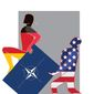 The Problem with NATO Illustration by Linas Garsys/The Washington Times