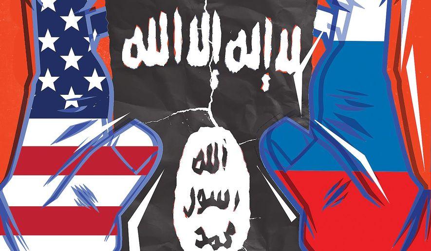 Syria Strategy Illustration by Linas Garsys/The Washington Times