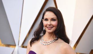 Ashley Judd arrives at the Oscars at the Dolby Theatre in Los Angeles. (Photo by Jordan Strauss/Invision/AP, File)