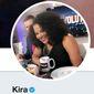 "Kira Davis of ""Smart Girls Podcast"" had to address questions regarding her alleged ""white privilege"" while debating with author Joyce Carol Oates online. (Image: Twitter, Kira Davis)"