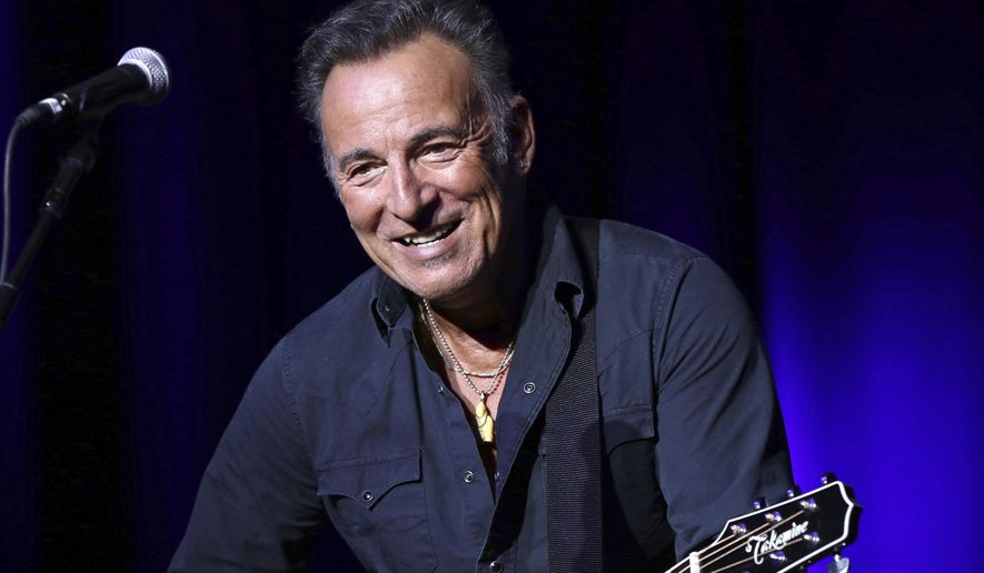 In this Nov. 10, 2015 file photo, Bruce Springsteen performs at the 9th Annual Stand Up For Heroes event in New York. (Photo by Greg Allen/Invision/AP, File)