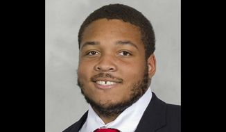 Jordan McNair, 19, died on June 13, 2018, following a heatstroke he suffered at a Maryland Terrapins football team workout in May. (Photo courtesy of Maryland athletics)