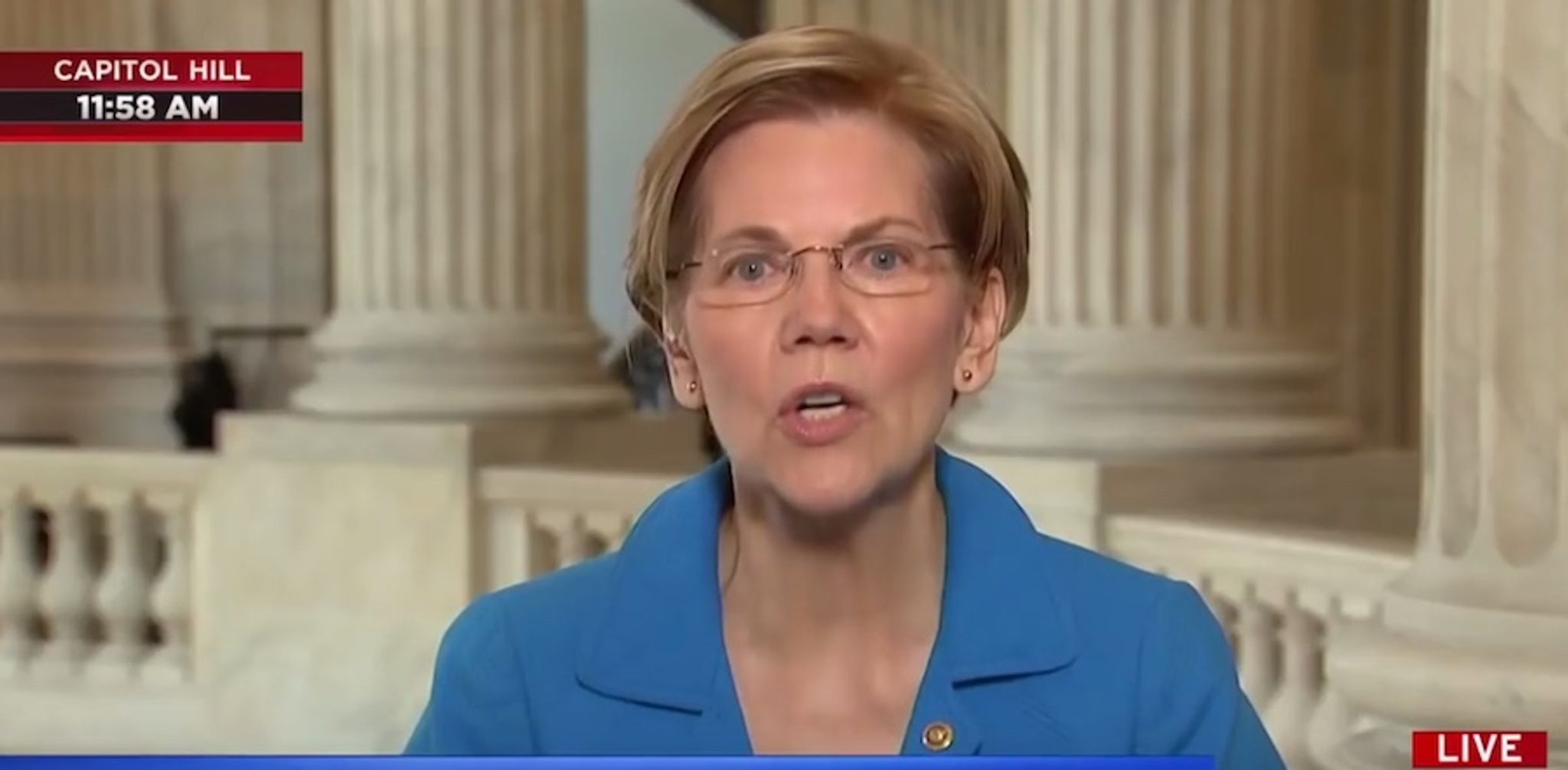 Elizabeth Warren: Americans would be 'eating dirt' without 'rules' to rein in 'rich' people