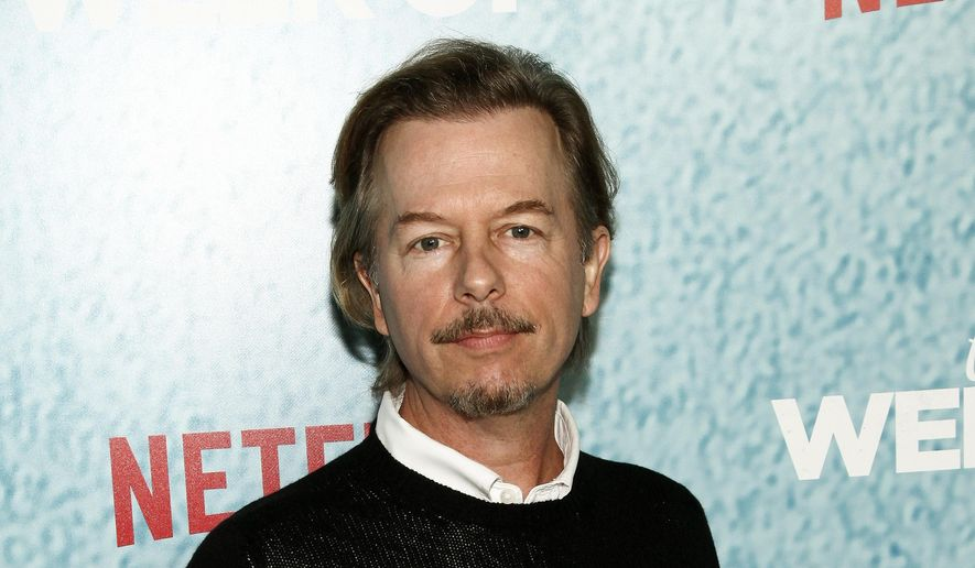 "In this April 23, 2018, file photo, David Spade attends the premiere of Netflix's ""The Week Of"" in New York. (Photo by Andy Kropa/Invision/AP, File)"
