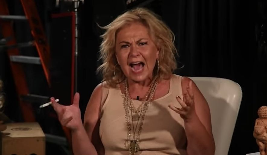 Roseanne Barr announced Friday that she's launching a new web show after a video of her ranting about her controversial Valerie Jarrett tweet went viral. (YouTube/@Roseanne Barr)