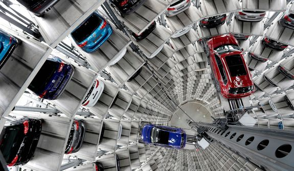 Germany's Volkswagen, Europe's largest automaker, warned the Trump administration against imposing tariffs on aluminum and steel imports. (Associated Press/File)
