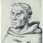 Martin Luther from an engraving circa 1520. (Associated Press)