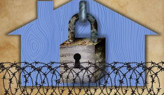 Property Rights Illustration by Greg Groesch/The Washington Times