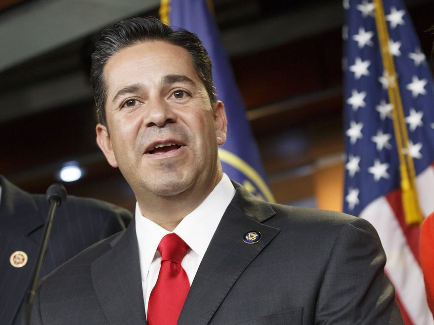 """At this point in time in 2018, the numbers indicate, I think, that there are as many as 55 to 57 Democratic candidates that outraised Republicans,"" DCCC Chairman Ben Ray Lujan told The Washington Times. ""That shows an advantage not just with fundraising, but also with the grass-roots operations they are running."" (Associated Press)"
