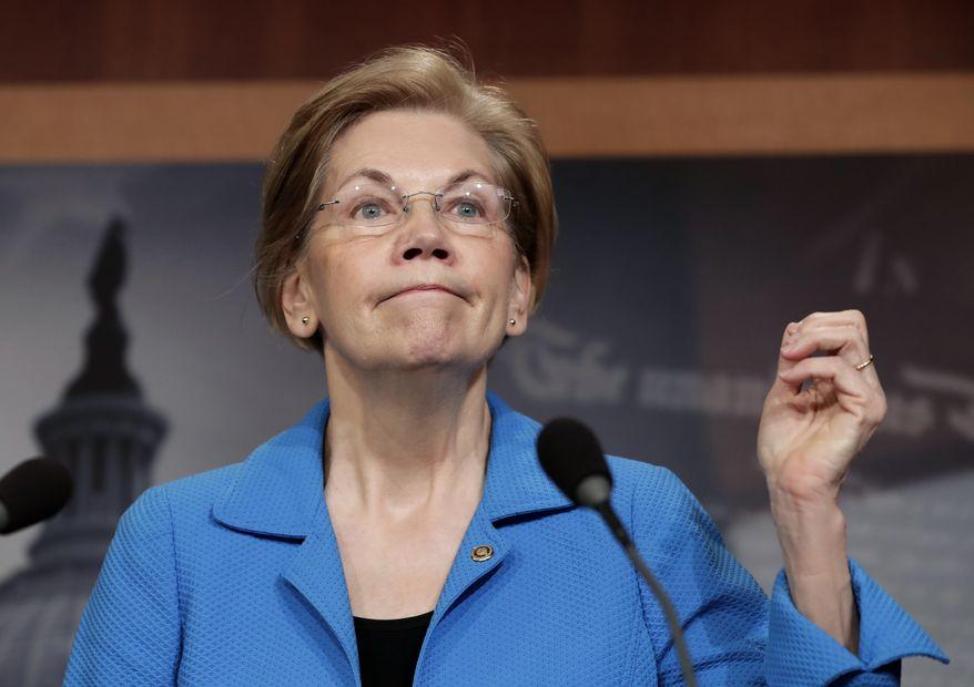 Sen. Elizabeth Warren, D-Mass. (Associated Press) ** FILE **