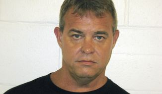 This undated photo provided by the Churchill County Sheriff's office shows John O'Conner. Police in the northern Nevada city of Fallon are trying to determine why O'Conner walked into his Mormon church on Sunday, July 22, 2018, and opened fire, killing one man and injuring another. (Churchill County Sheriff's Office via AP)