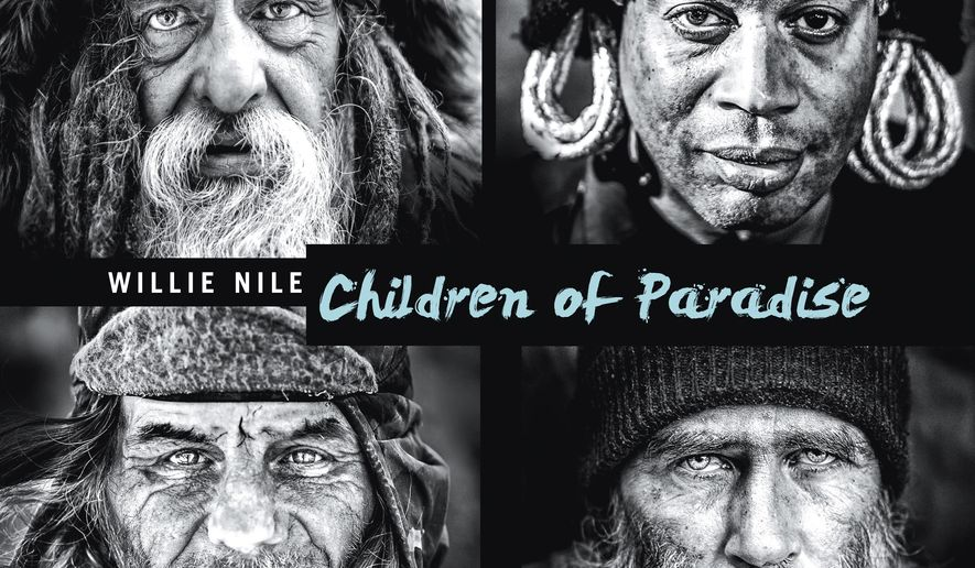"This cover image released by River House Records shows ""Children of Paradise,"" a release by Willie Nile. (River House Records via AP)"