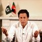 Pakistani Prime Minister Imran Khan a former cricket star, makes his first trip to the White House on Monday since his election 11 months ago. (Associated Press/File)