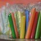 The Santa Barbara City Council voted in favor of banning plastic straws, like these. (Associated Press)