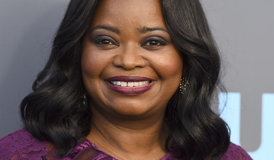 "FILE - In this Jan. 11, 2018, file photo, Octavia Spencer arrives at the 23rd annual Critics' Choice Awards at the Barker Hangar in Santa Monica, Calif. Octavia Spencer is bringing the story of black haircare mogul Madam C.J. Walker to television. Netflix said Sunday, July 29, 2018, that Spencer will produce and star in a limited series about the outsized life of Sarah Breedlove, who was known professionally as Walker. The eight-episode drama is based on the book ""On Her Own Ground"" and includes LeBron James as a producer. (Photo by Jordan Strauss/Invision/AP, File)"