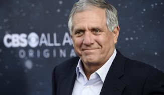 """FILE - In this Sept. 19, 2017 file photo, Les Moonves, chairman and CEO of CBS Corporation, poses at the premiere of the new television series """"Star Trek: Discovery"""" in Los Angeles. Bucknell University has removed references on its website to alumnus and CBS chief executive Moonves amid sexual harassment allegations against him. The New Yorker magazine published the allegations from several women Friday, July 27, 2018. (Photo by Chris Pizzello/Invision/AP, File)"""