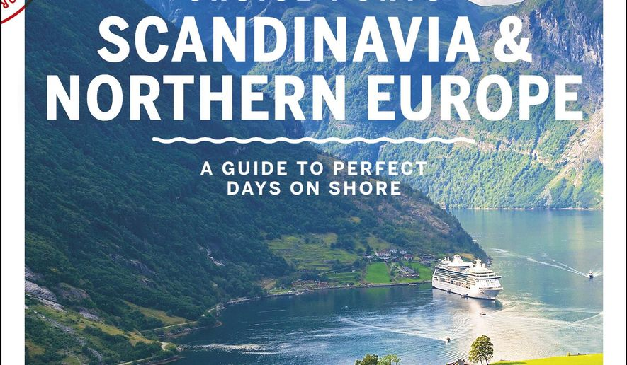 This undated photo shows the cover of Lonely Planet's new guide to cruising in Scandinavia and Northern Europe. It's the first time the guidebook publisher has brought out books devoted to cruising, and it's one of three. The others are guides to ports in Alaska and the Caribbean. (Lonely Planet via AP)