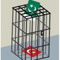 Illustration on elections in Turkey and Pakistan by Linas Garsys/The Washington Times