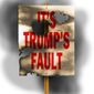 Illustration on the rising fatigue for Trump's critics by Alexander Hunter/The Washington Times