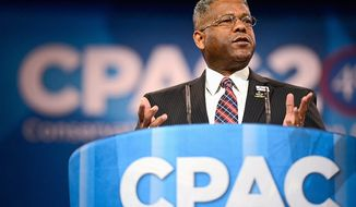 """""""You're probably going to see me get back in there after this election cycle,"""" said former Rep. Allen West, Florida Republican, on Tuesday. (The Washington Times)"""