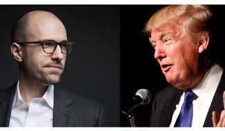 A.G. Sulzberger and President Donald Trump. (Associated Press)