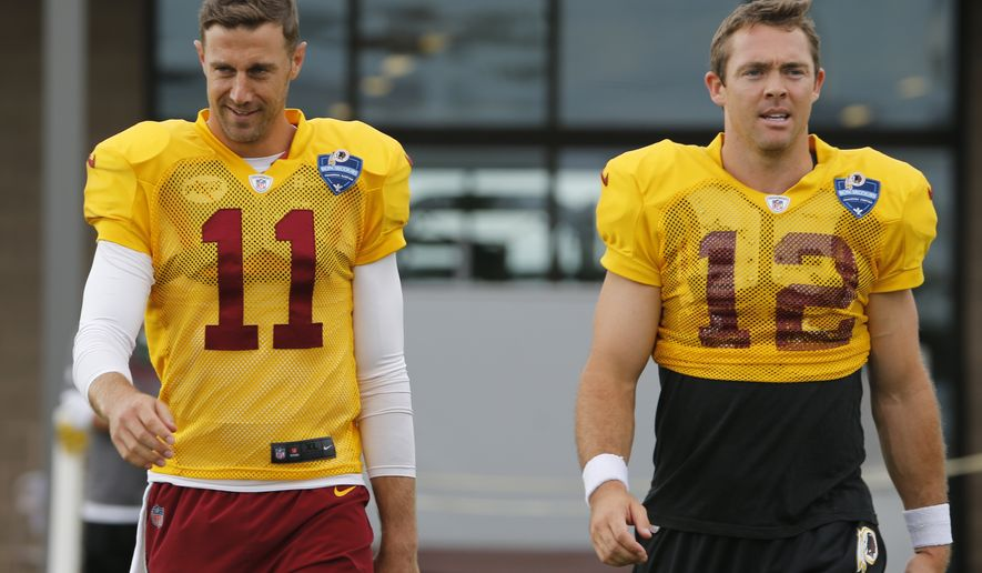free shipping e14a9 35fa7 Alex Smith over Kirk Cousins? Redskins fans seem to think so ...