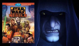 "The Emperor appears in ""Star Wars Rebels: The Complete Fourth Season,"" now available on Blu-ray from Walt Disney Studios Home Entertainment."