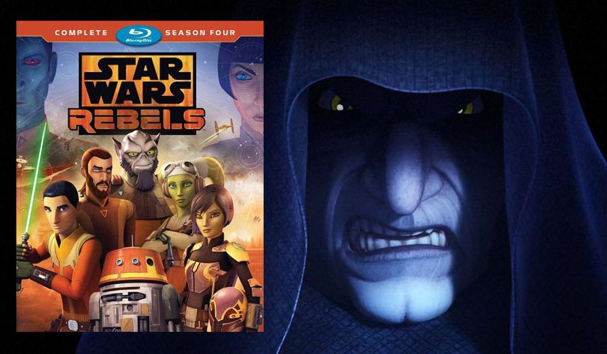 """The Emperor appears in """"Star Wars Rebels: The Complete Fourth Season,"""" now available on Blu-ray from Walt Disney Studios Home Entertainment."""
