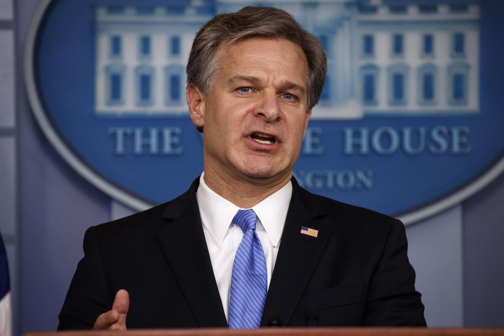 FBI Director Christopher Wray: 'Terrorism today moves at the speed of social media'