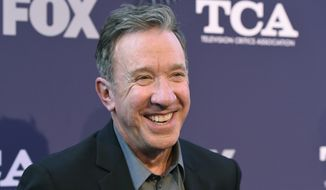"Tim Allen, a cast member in the television series ""Last Man Standing,"" poses at the FOX Summer TCA All-Star Party at Soho House West Hollywood, Thursday, Aug. 2, 2018, in West Hollywood, Calif. (Photo by Chris Pizzello/Invision/AP)"