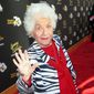 Charlotte Rae arrives at the Television Academy's 70th Anniversary at The Television Academy on Thursday, June 2, 2016, in Los Angeles. (Photo by Rich Fury/Invision/AP)