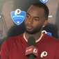 Washington Redskins wide receiver Paul Richardson speaks with reporters after practice at Bon Secours Washington Redskins Training Facility in Richmond, Virginia, on Tuesday, August 7, 2018. (Video screenshot via Twitter / @Redskins)