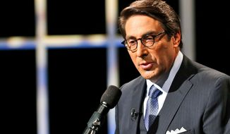 In this Oct. 23, 2015, file photo, Jay Sekulow speaks at Regent University in Virginia Beach, Va. Special counsel Robert Mueller's investigators want to interview the President Donald Trump on whether he sought to obstruct justice by firing FBI Director James Comey and other actions. But Trump's lawyers have tried to narrow the scope, in part by arguing that prosecutors can't ask Trump about actions he's taken while in office. Sekulow said in a statement that the attorneys have responded in writing to the latest offer but would not elaborate.(AP Photo/Steve Helber, File) **FILE**